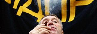 Жириновский изгоняет курильщиков