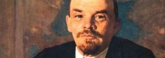 Неизвестный напал на Ленина