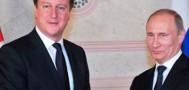 Владимир Путин и Дэвид Кэмерон «разморозят» сотрудничество спецслужб