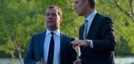 Медведев встретился с исландским премьером