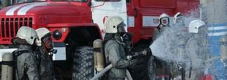 Пожарными было ликвидировано возгорание в западной части Москвы