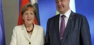 Ангела Меркель и Пётр Порошенко обсудили ситуацию на Донбассе