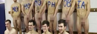 Голый хоккейный матч или борьба с гомофобией