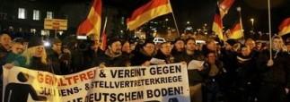 В Германии тысячи людей выступили против исламизации страны