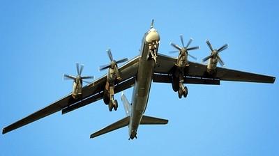 Российские ТУ-95 летали над Ла-Маншем