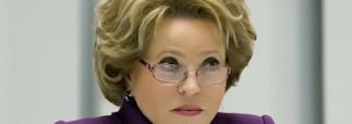 Валентина Матвиенко собирается с официальным визитом в Крым
