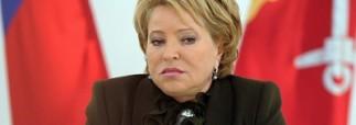 Матвиенко может отказаться от поездки в США