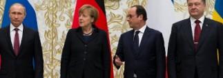 Путин прибыл в Париж на встречу «нормандской четверки»