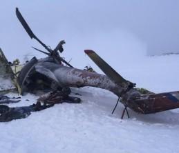 В Красноярском крае инициировано уголовное разбирательство в связи с падением вертолета