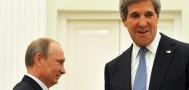Встреча Путина и Керри прошла в Кремле
